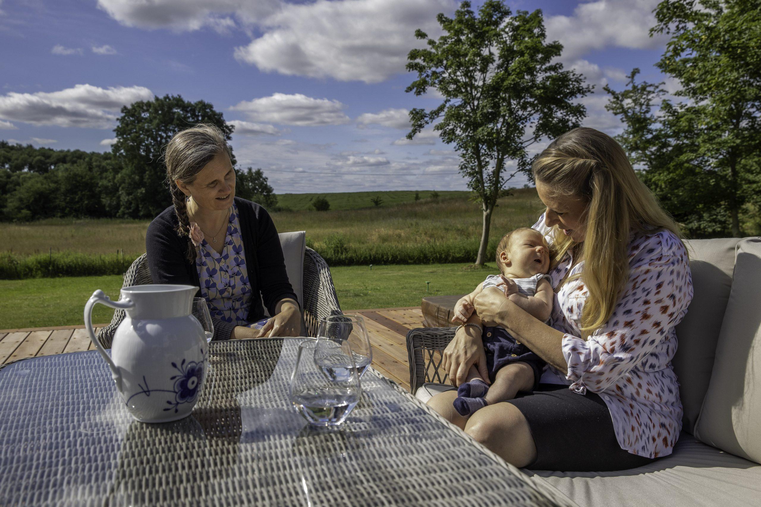 Camaniki: forældre med barn